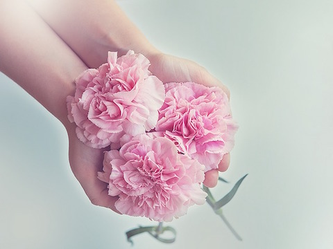 お花を贈る